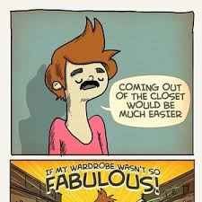 Closet Gay Meme - coming out of the closet by pablostanley meme center