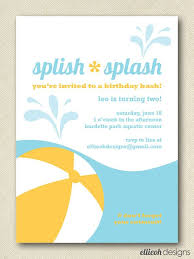 54 best pool invitations images on pool
