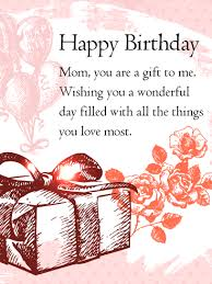 birthday gift box cards for mother birthday u0026 greeting cards by