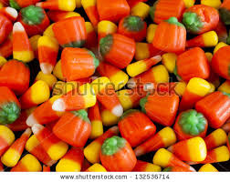 pumpkin candy corn candy corn pumpkin candies on stock photo 132536714