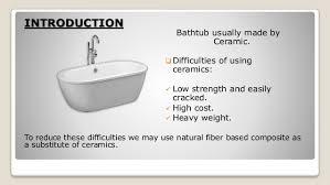 Fiber Bathtub A Bathtub Making Procedure By Natural Fibre Based Composite