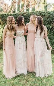 floral bridesmaid dresses 38 beautiful bridesmaids dresses crazyforus