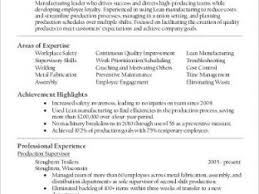 Manufacturing Supervisor Resume Page 51 U203a U203a Creative Resume Ideas Nardellidesign Com