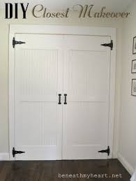 Pictures Of Closet Doors Diy Cottage Closet Door Makeover Hometalk