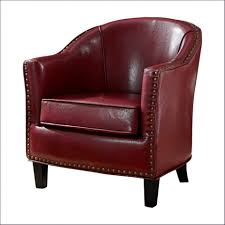 Red Leather Swivel Chair by Furniture Barrel Swivel Chairs Upholstered Leather Swivel Barrel