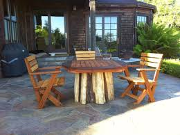 Redwood Patio Table Furniture Appealing Smith And Hawken Patio Furniture For Your
