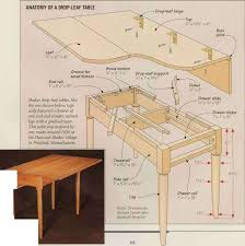 Woodworking Making Table Legs by Dropleaf Table Shaker Furniture Furniture Making Blog