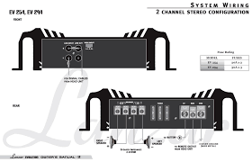 5 channel car amp wiring diagram periodic u0026 diagrams science