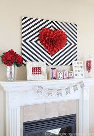 valentines decor s mantle decor blooming homestead