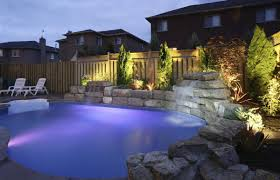 types of landscape lighting 3 types of swimming pool lights to enhance your luxury swimming
