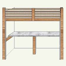 Woodworking Plans For Beds Free by Free Diy Woodworking Plans For Building A Loft Bed Free Low
