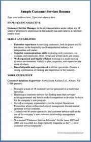 Sample Resume Of Customer Service Manager by Skills On Customer Service Resume Resume Was Written Or