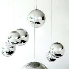 chrome lighting fixtures modern tom mirror glass ball pendant lights restaurant modern bathroom lighting fixtures chrome