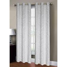 Burlap Grommet Curtains Window Elements Semi Opaque Savannah Jacquard 84 In L Grommet