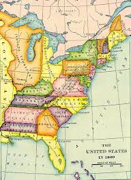 usa map louisiana purchase us map in 1800 prior to the louisiana purchase social studies