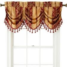 Window Curtains At Jcpenney Home Expressions Regan Tuck Valance
