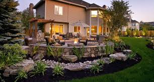 Sloping Backyard Landscaping Ideas Sloped Backyard Landscaping Pictures Sloped Backyard Designs
