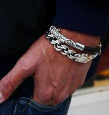 silver bracelet styles images 15 different types of silver bracelets for men styles at life jpg