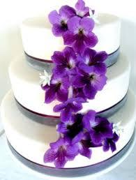 wedding cake edible decorations purple wedding cakes decoration ideas birthday cakes