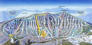 Mt Snow Trail Map Santa Fe Ski Area Map Santa Fe Pinterest Santa Fe Fe And
