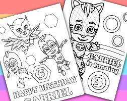 pjmasks coloring sheets