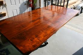 how to finish a table top with polyurethane lighthouse woodworking