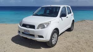 daihatsu terios off road tropical rentals your rental car on bonaire