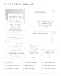 wedding invitations with response cards olivia wedding invitations wedding invitations by shine