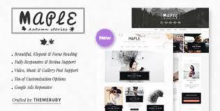 love themes video maple responsive wordpress blog theme wordpress blog themes