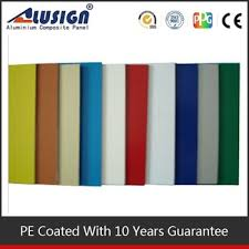 alusign bright colour high gloss acp exterior wall paint color