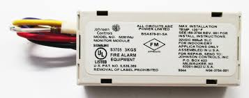 johnson controls m301mj miniature monitor module