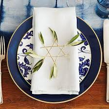 hanukkah tableware how do i decorate for hanukkah no seriously i m asking the