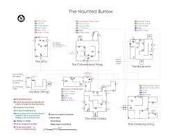 the burrow floor plan haunted burrow map spoiler