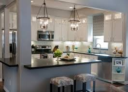 Island Lights Kitchen White Elegant Country Kitchen Lighting Styleshouse