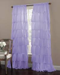 Lavender Window Curtains Ruffled 84 Curtain Panel Lavender By Lorraine Home Fashions
