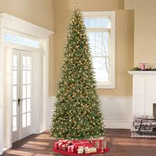 12 ft artificial indoor tree pre lit 1100 clear lights