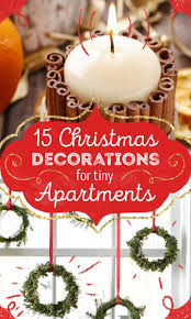 15 creative christmas decorations for tiny apartments small