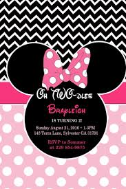 mickey mouse 2nd birthday invitations 76 best minnie mouse birthday party images on pinterest mice