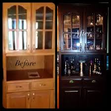 refinished china cabinet we did it pinterest refinished