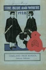 oakland high school yearbook oakland high school alumni yearbooks reunions oakland ca
