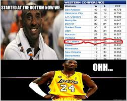 Kobe Memes - started at the bottom now we ohh kobe quickmeme