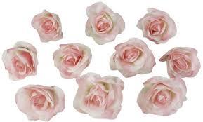 bulk silk flowers 10 pink heads silk flower wedding reception table decorations