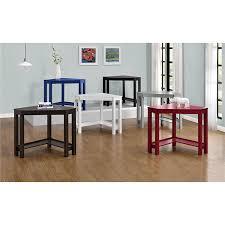 amazon com altra furniture parsons corner desk navy bar