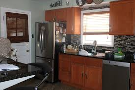 White Paint Kitchen Cabinets by Painting Appliances Used Thomas Liquid Stainless Steel Paint White