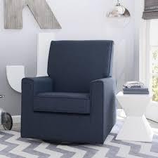 Swivel Rocker Chairs For Living Room Delta Children Eva Nursery Glider Swivel Rocker Chair Sailor