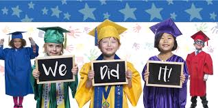cheap cap and gown kids graduation robes kindergarten cap and gowns tassels