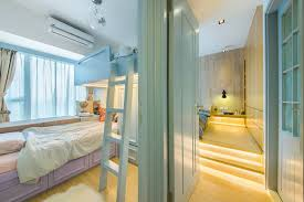 Bunk Bed Hong Kong Bunk Bed Idea A Warm And Cozy Home In Hong Kong Bedrooms