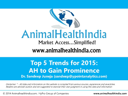 animal health top 5 trends in 2015