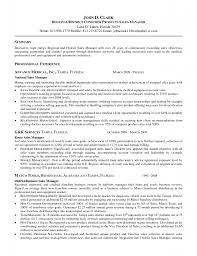 Resume Examples For Retail Sales by Resume For Sales Manager Position Free Resume Example And