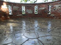 Cost Of Stamped Concrete Patio by Stone Texture Stamped Concrete Patio Concrete Stamped Patios